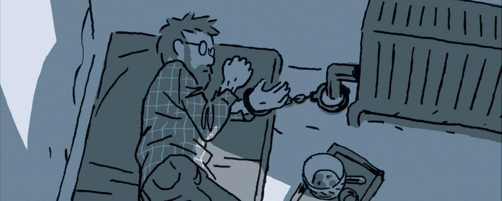La BD fait son festival : S'enfuir, récit d'un otage, par Guy Delisle